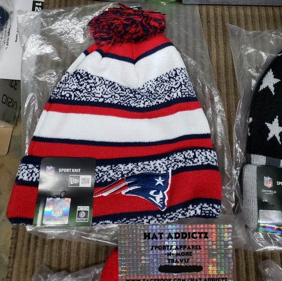 Nfl Accessories New England Patriots New Era Beanie Nwt Poshmark